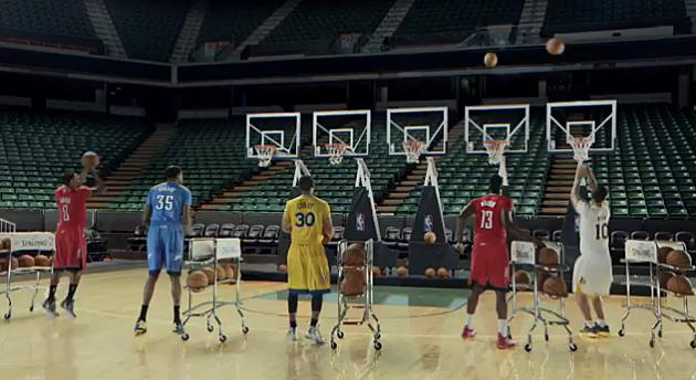 NBA Superstar Plays Jingle Bells in Christmas Day Jerseys - Video