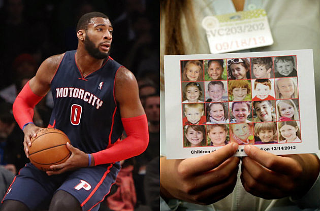 Andre Dummond Honors Sandy Hook