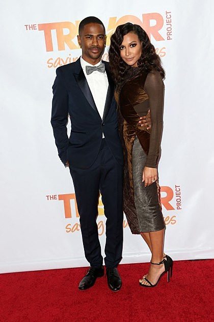 Big Sean And Fiance Naya Rivera