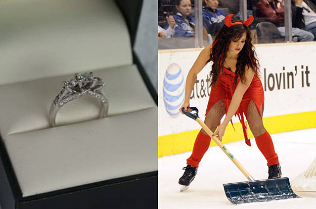 Want To Buy A Cursed Engagement Ring Worn By Satan Herself
