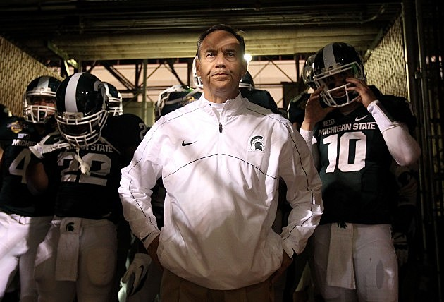 Mark Dantonio Big 10 Coach of the Year