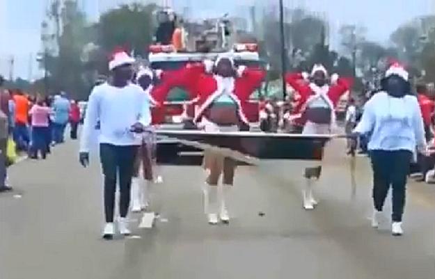 Prancing Elites Christmas Parade