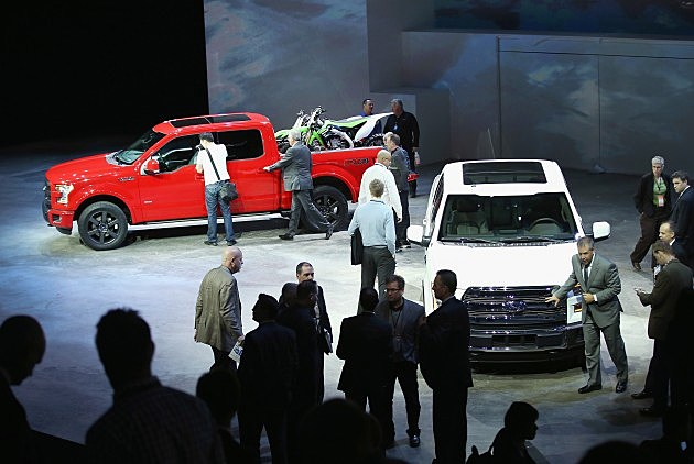 The New 2015 Ford F-150 Unveiled at the Detroit Auto Show