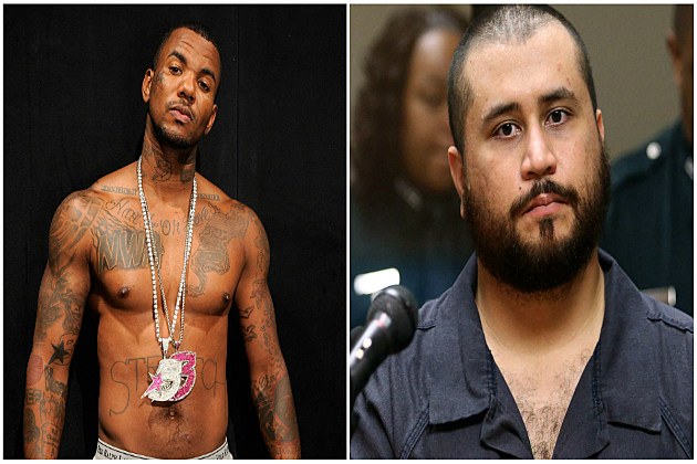 Rapper The Game Wants Celeb Boxing Fight With George Zimmerman
