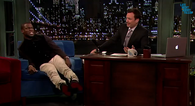 Kevin Hart Tells Jimmy Fallon About Spilling a Drink on Jay Z and Beyonce