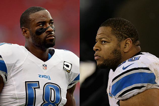 Ndamukong Suh and Calvin Johnson Most Feared