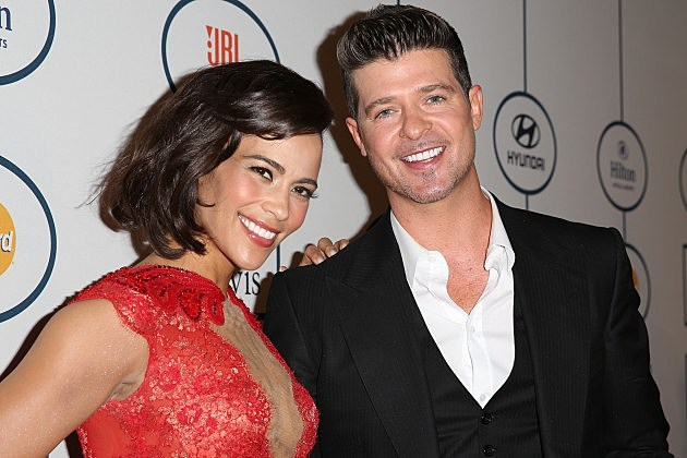Robin Thicke and Paula Patton Reportedly Ending Their Marriage