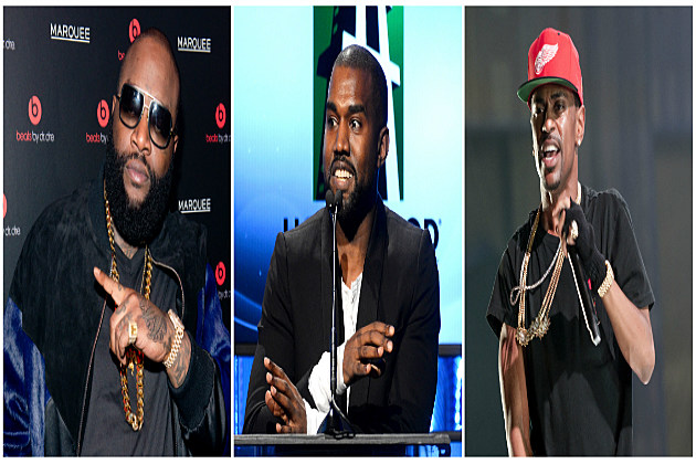 Rapper Rick Ross Releases Soulful 'Sanctified' Featuring Kanye West and Big Sean
