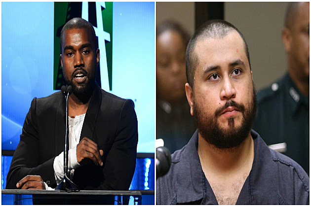 George Zimmerman Wants to Fight Rapper Kanye West in Celebrity Boxing Match