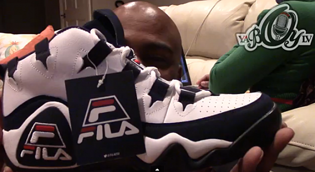 LV Previews the Fila 95 Grant HIll, Reebok Shaq Attaq 'Brick City' - Video