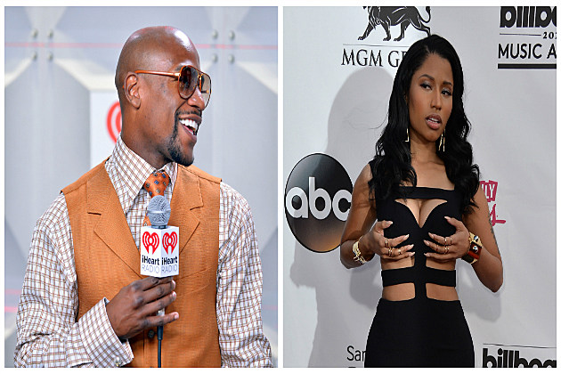 Floyd Mayweather Paid Nicki Minaj to Show Up at His Daughter's 15th Birthday Party