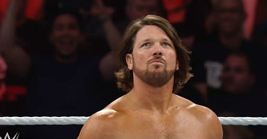 AJ  Styles WWE via youTube