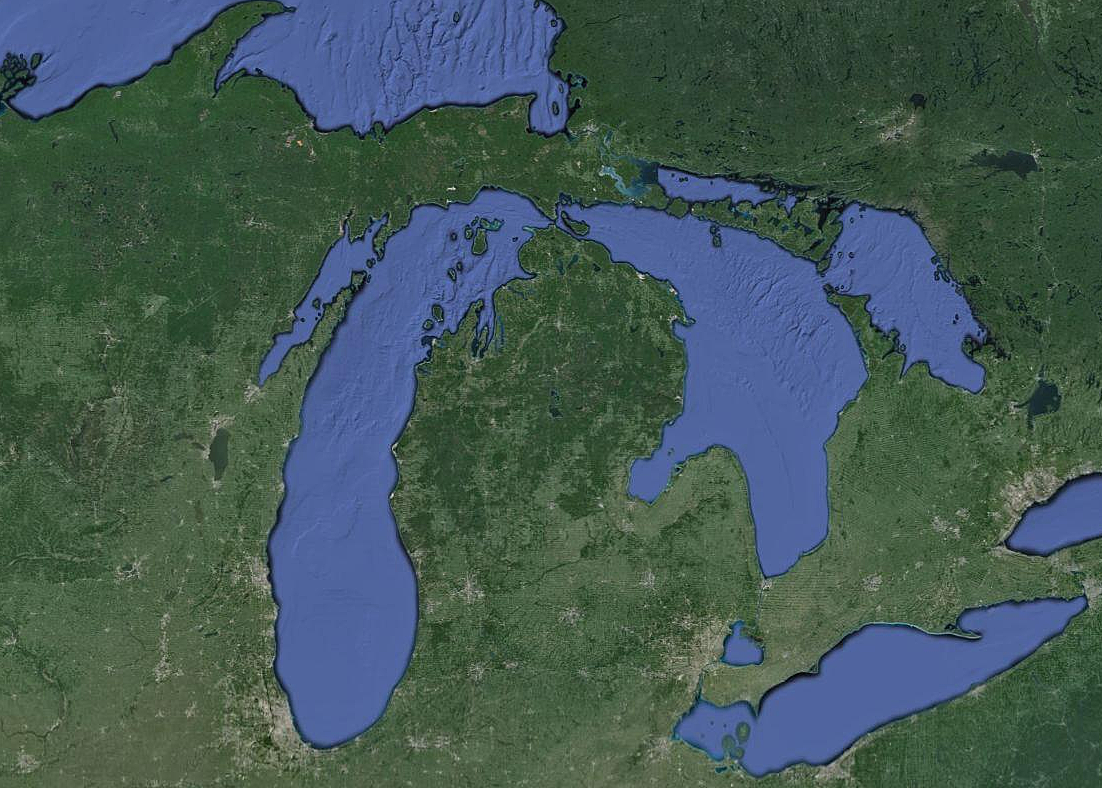 Michigan via Google Maps