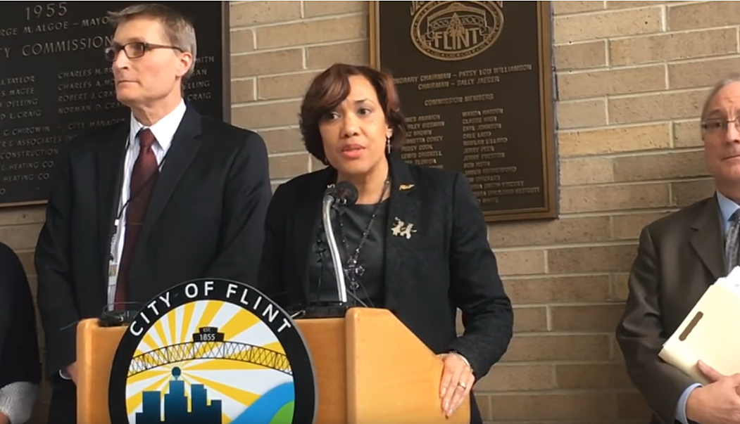 Mayor Karen Weaver via MLive YouTube
