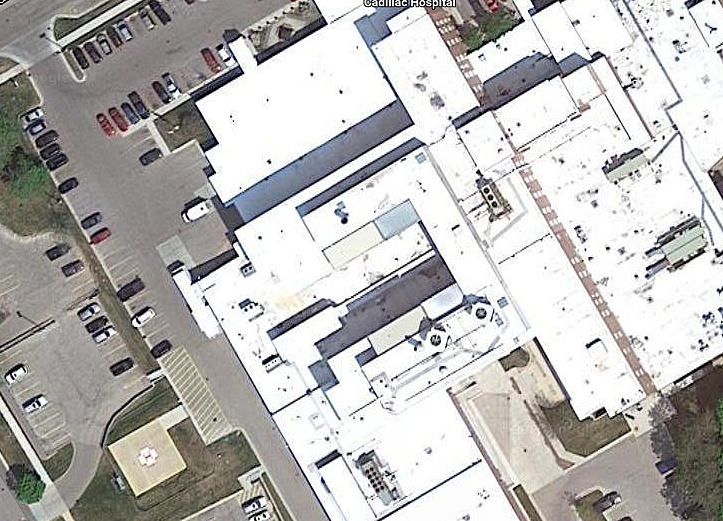 Munson Healthcare Cadillac Hospital via Google Maps